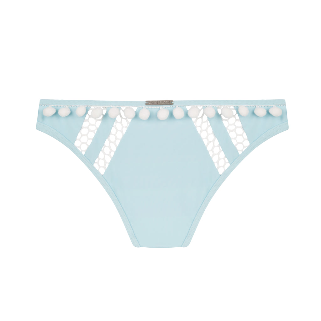 The Jageur Aqua Blue Bikini Bottom