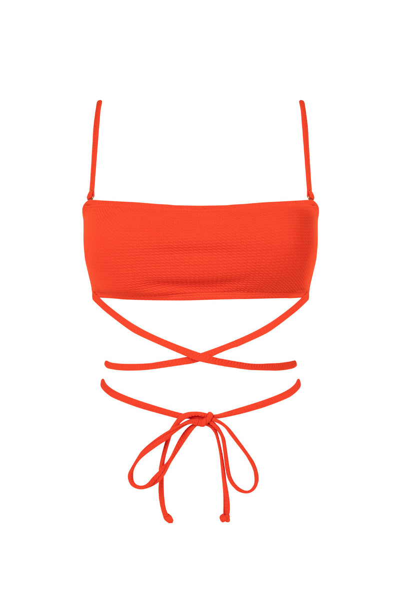 The Blood Orange Herbert Bandeau Top