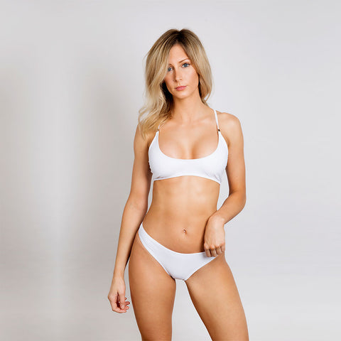 Oliver Jane Ladies Bikini Top Fullerton White