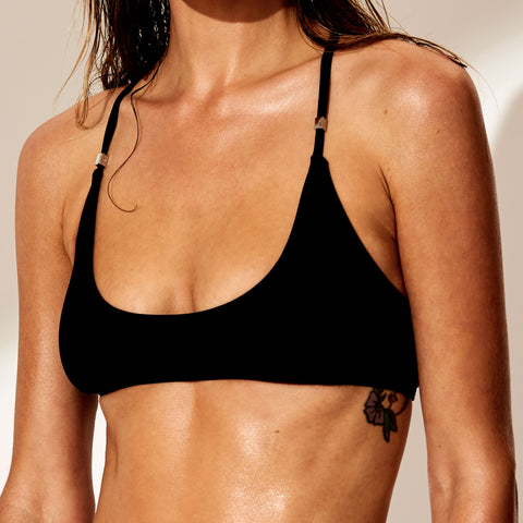 Oliver Jane Ladies Bikini Top Fullerton Black