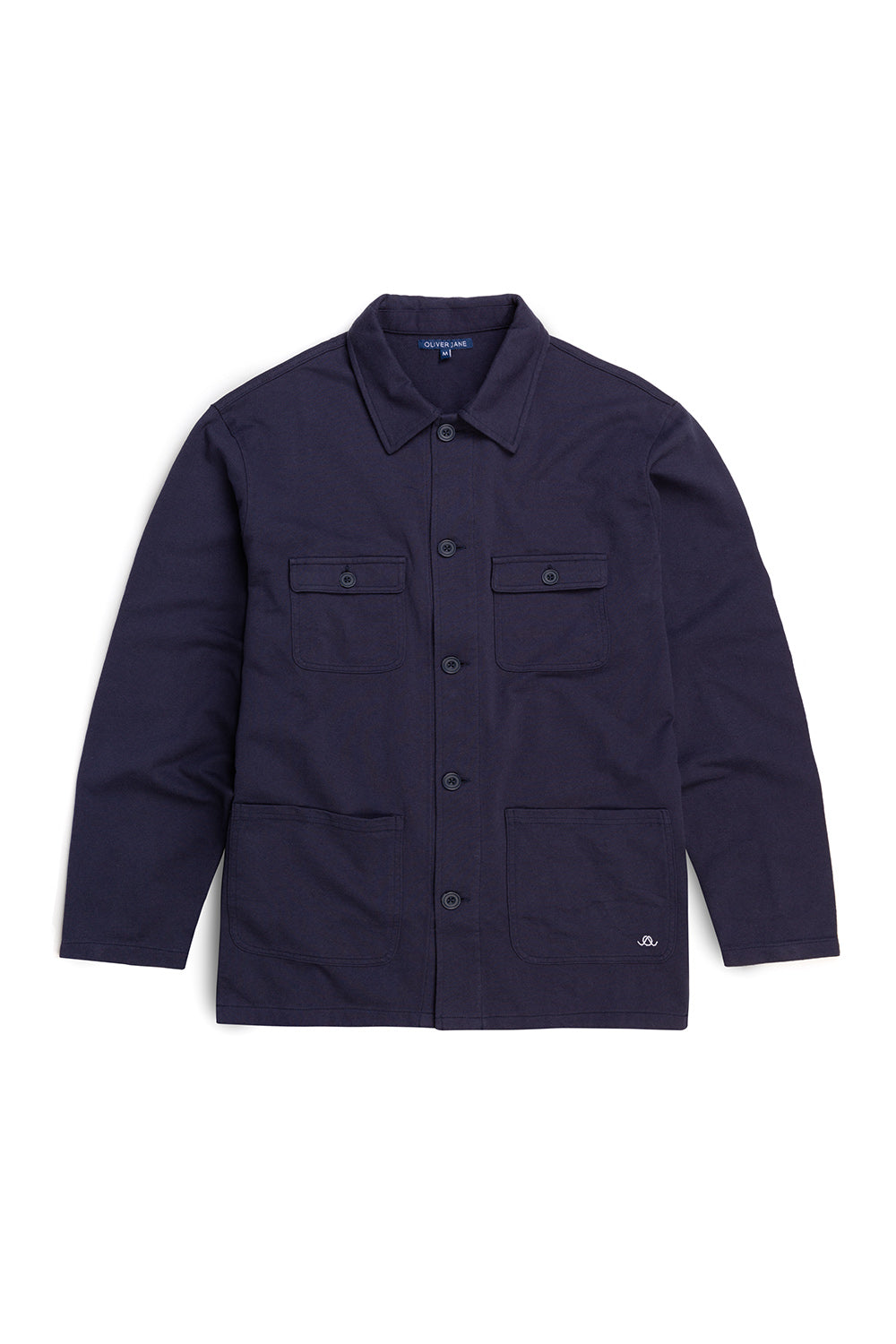 The Navy Four Pocket Overshirt