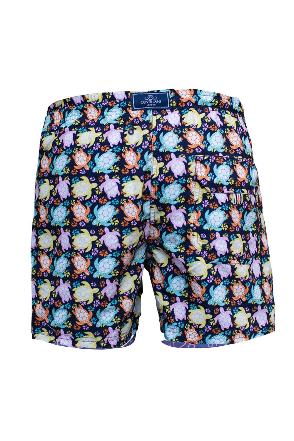 The Beach Turtle Black Swim Short
