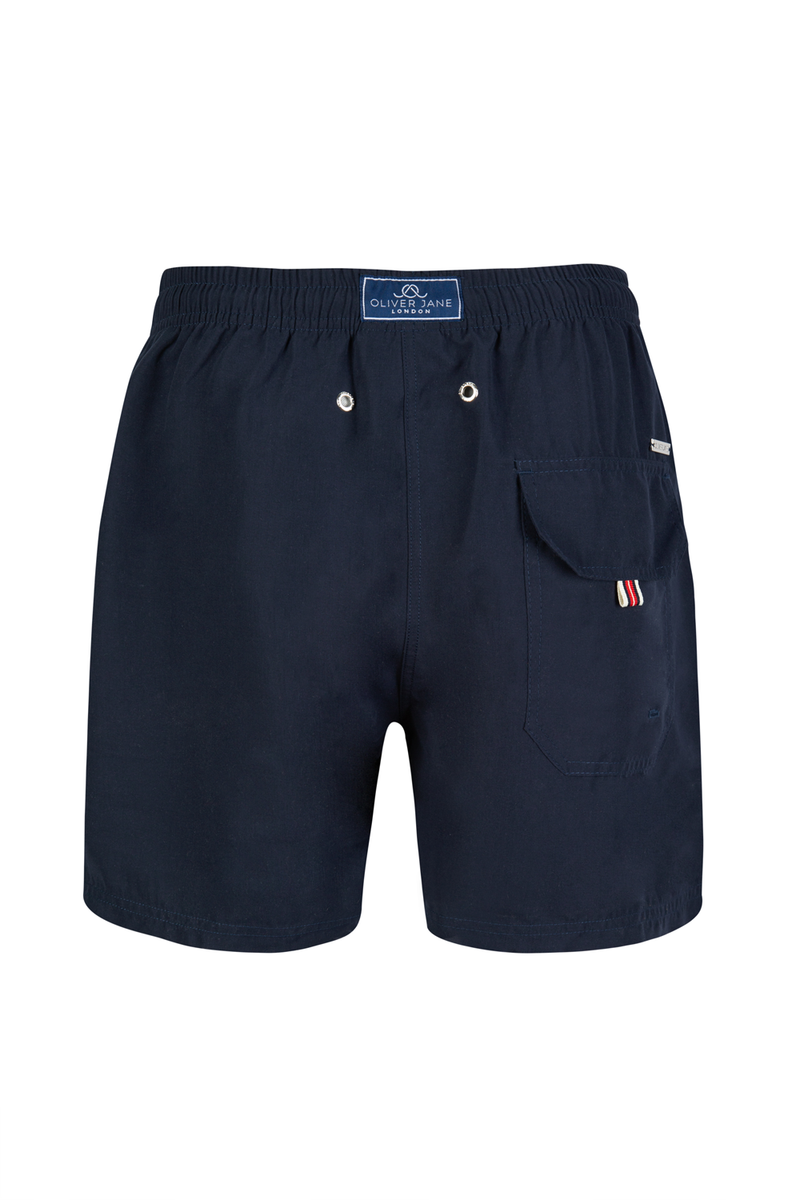The Block Navy Swim Short