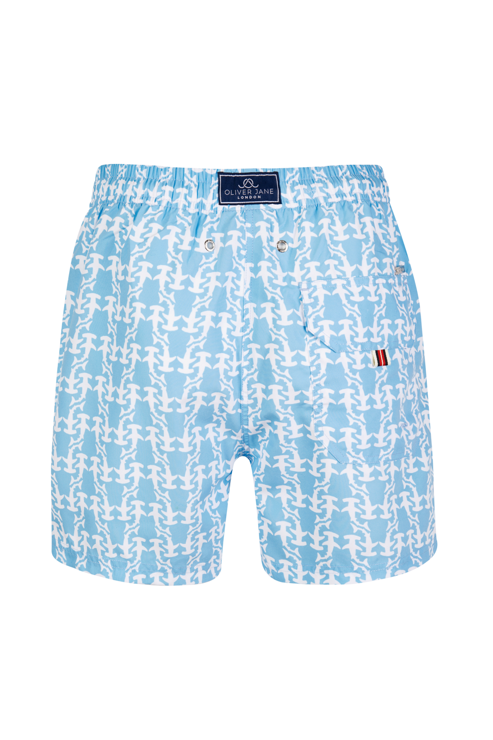 The Blue Hammerhead Shark Swim Shorts
