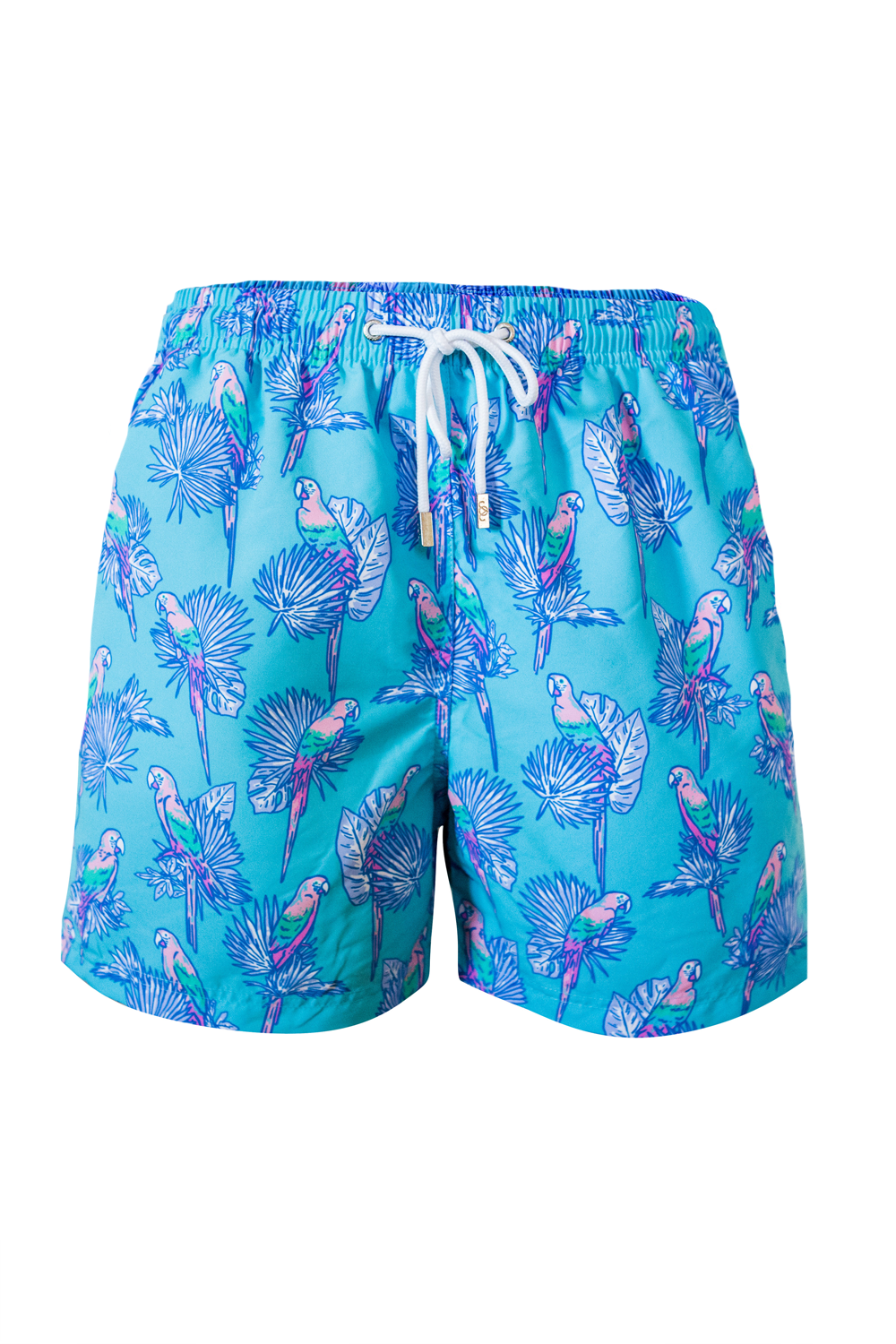 The Pedro Parrot Blue Swim Short
