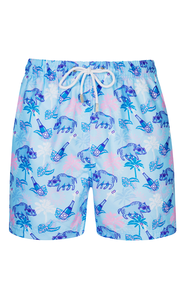 The Limited Edition BucketLust Blue Swim Short
