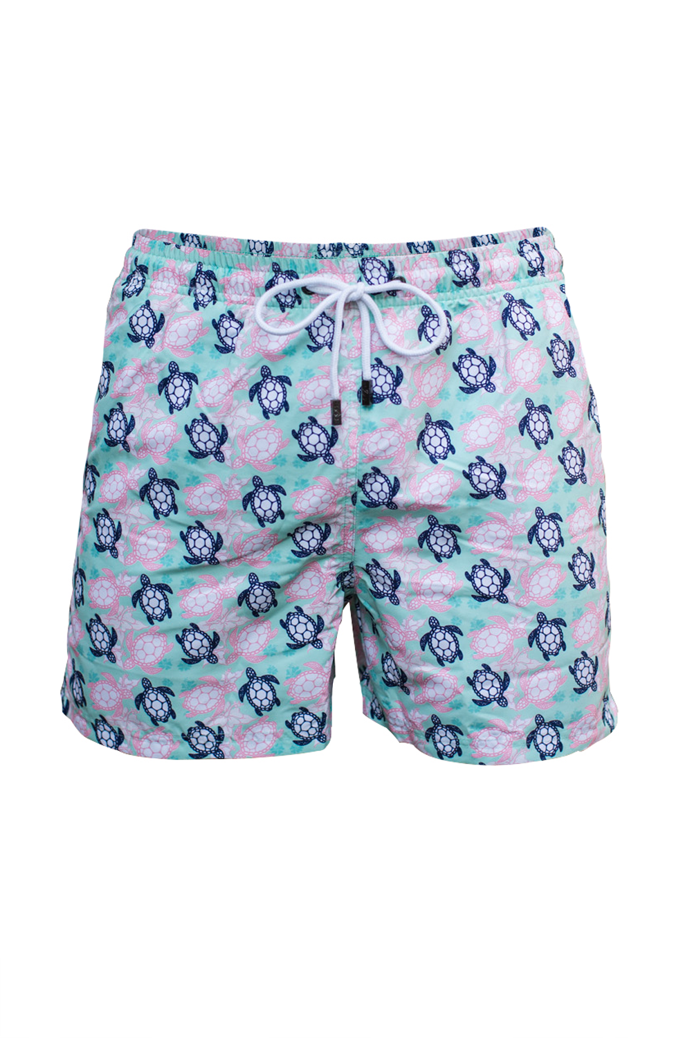 The Beach Turtle Green Swim Short