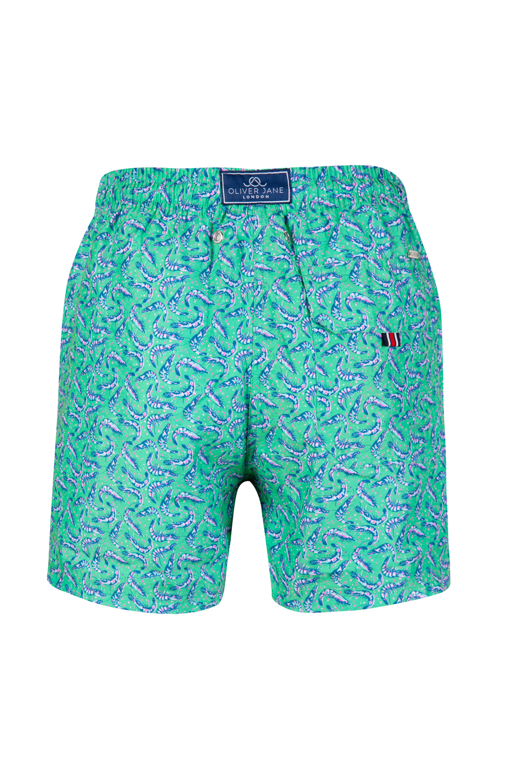 The Winking Prawn Green Swim Short