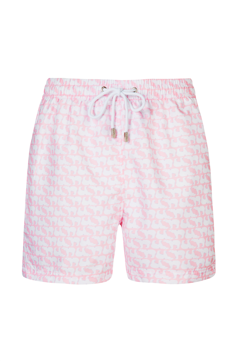 The Haggy Bear Pink Swim Short