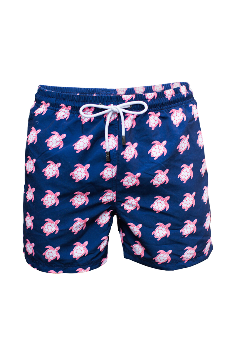 The Beach Turtle Navy Swim Short