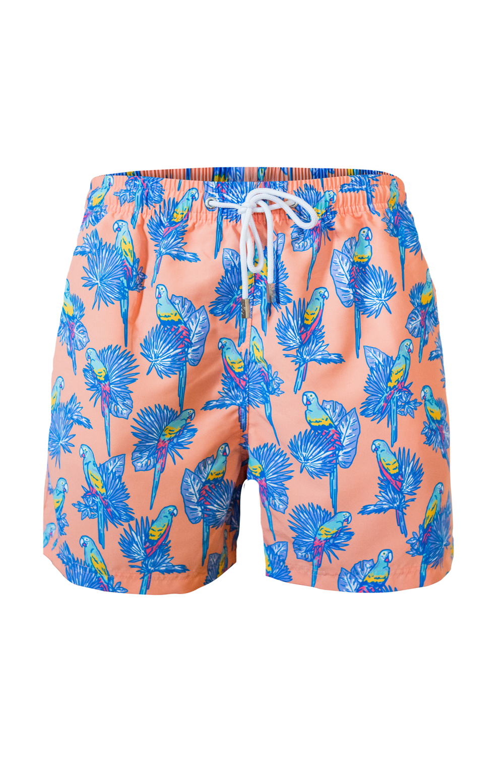 The Pedro Parrot Orange Swim Short