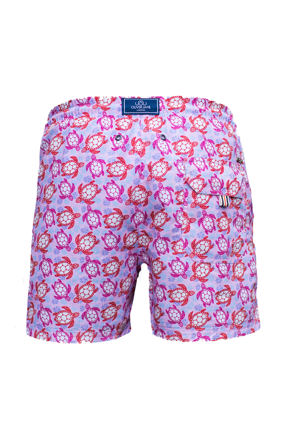 The Beach Turtle Pink Swim Short