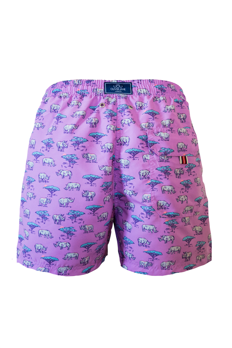 The Purple Rhino Swim Short