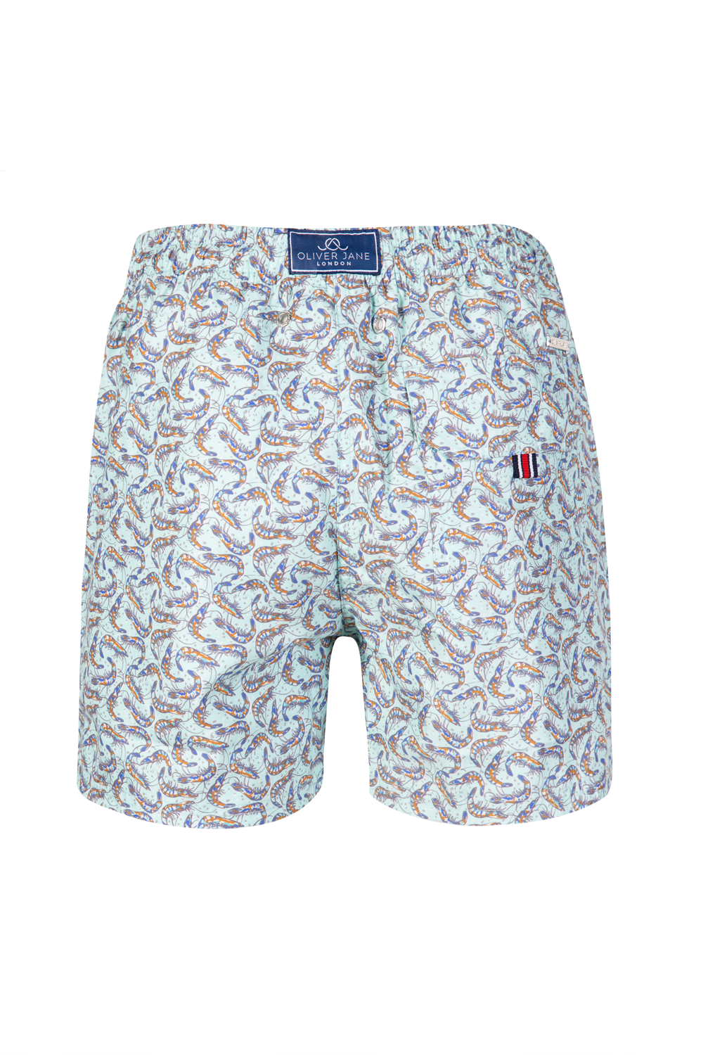 The Winking Prawn Turquoise Swim Short