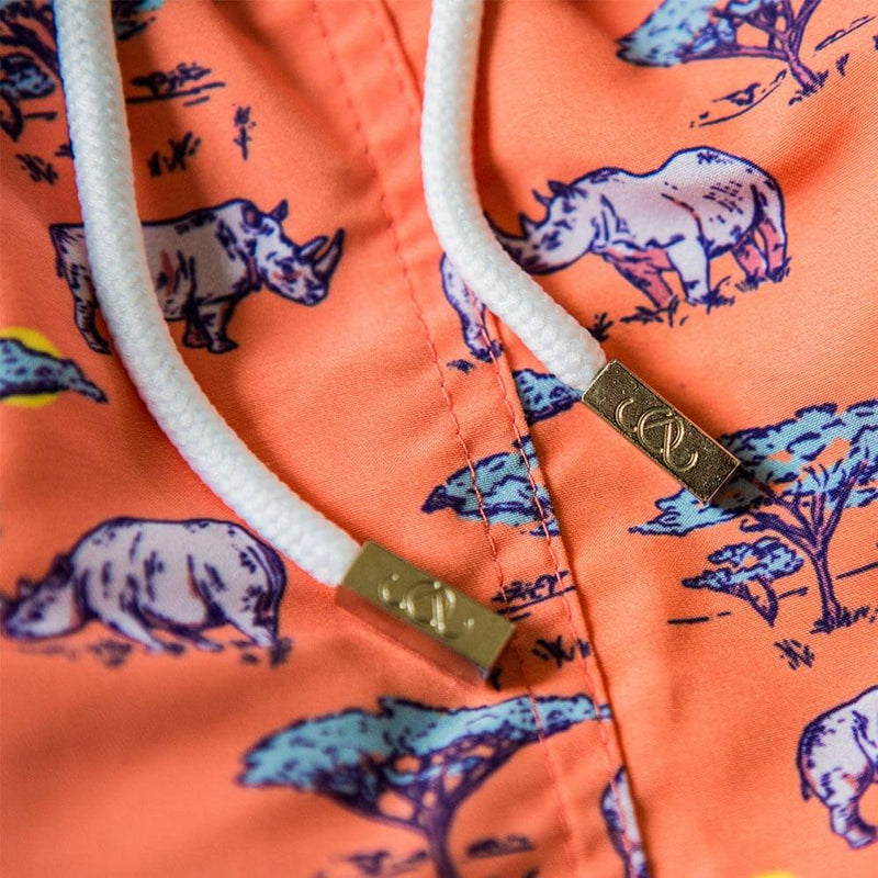 The Coral Rhino Swim Short