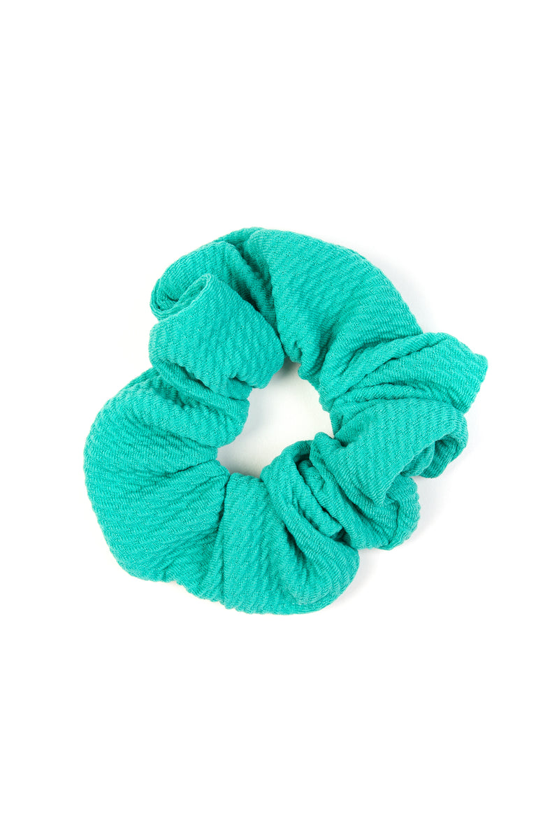 The Turquoise Scrunchie