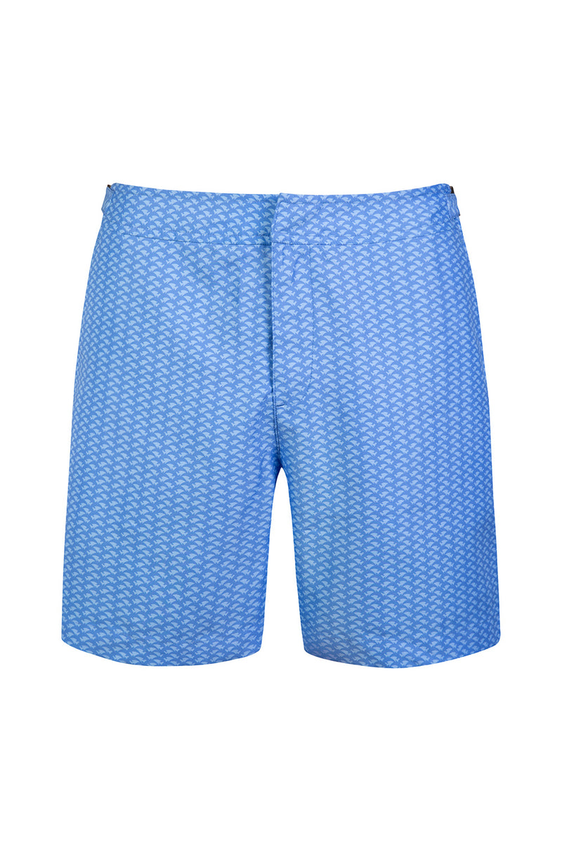 The Blue Dolphin Tailored Swim Short