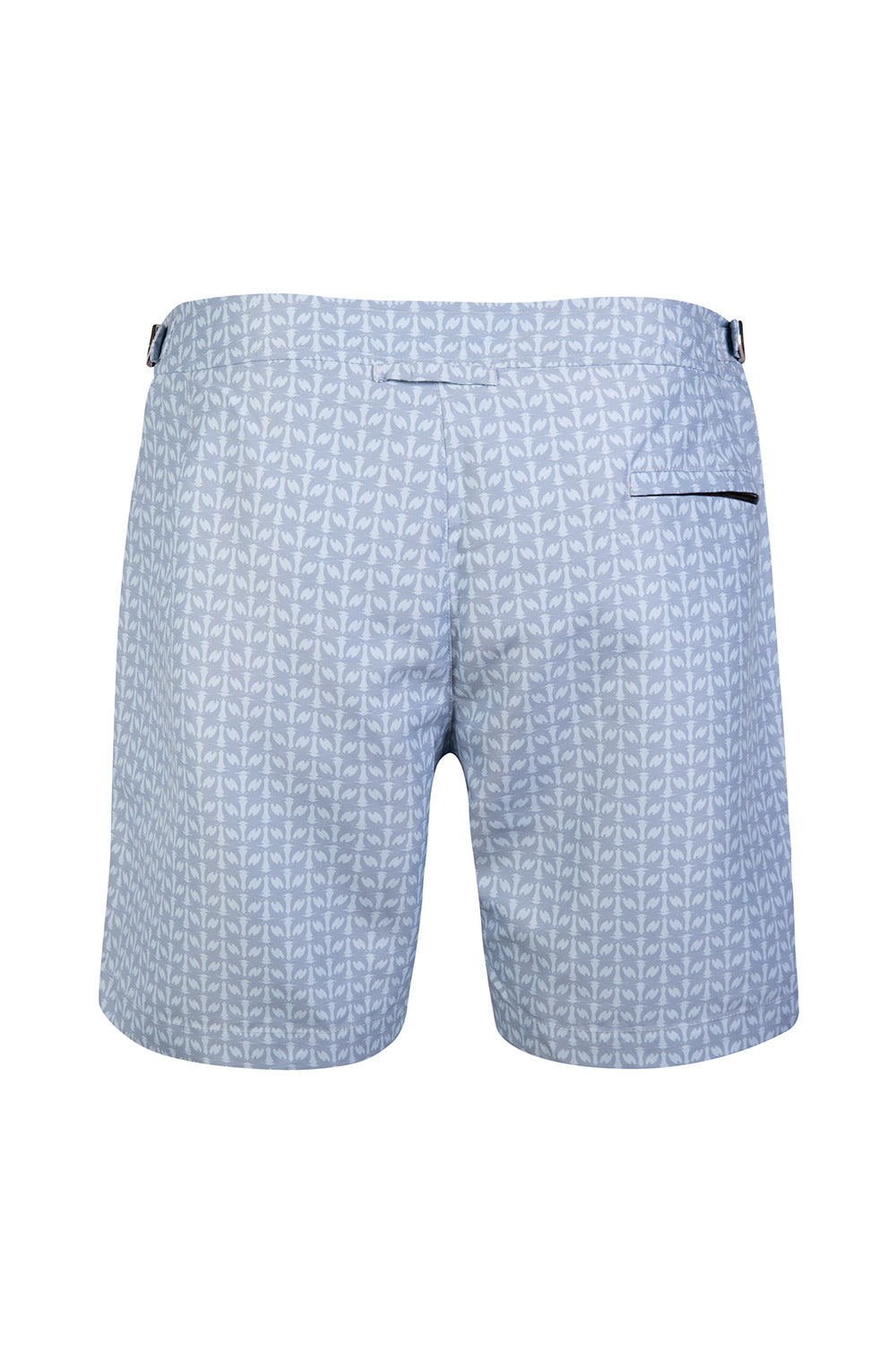 The Jumping Grey Dolphin Tailored Swim Short