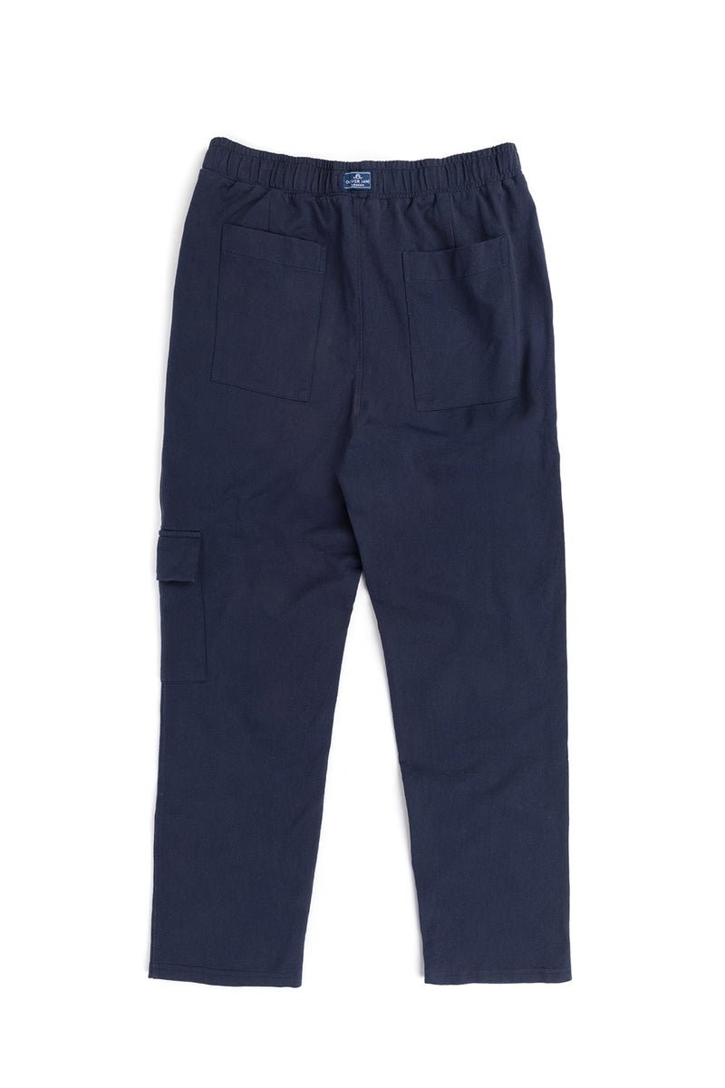 The Navy Cargo Sweatpants