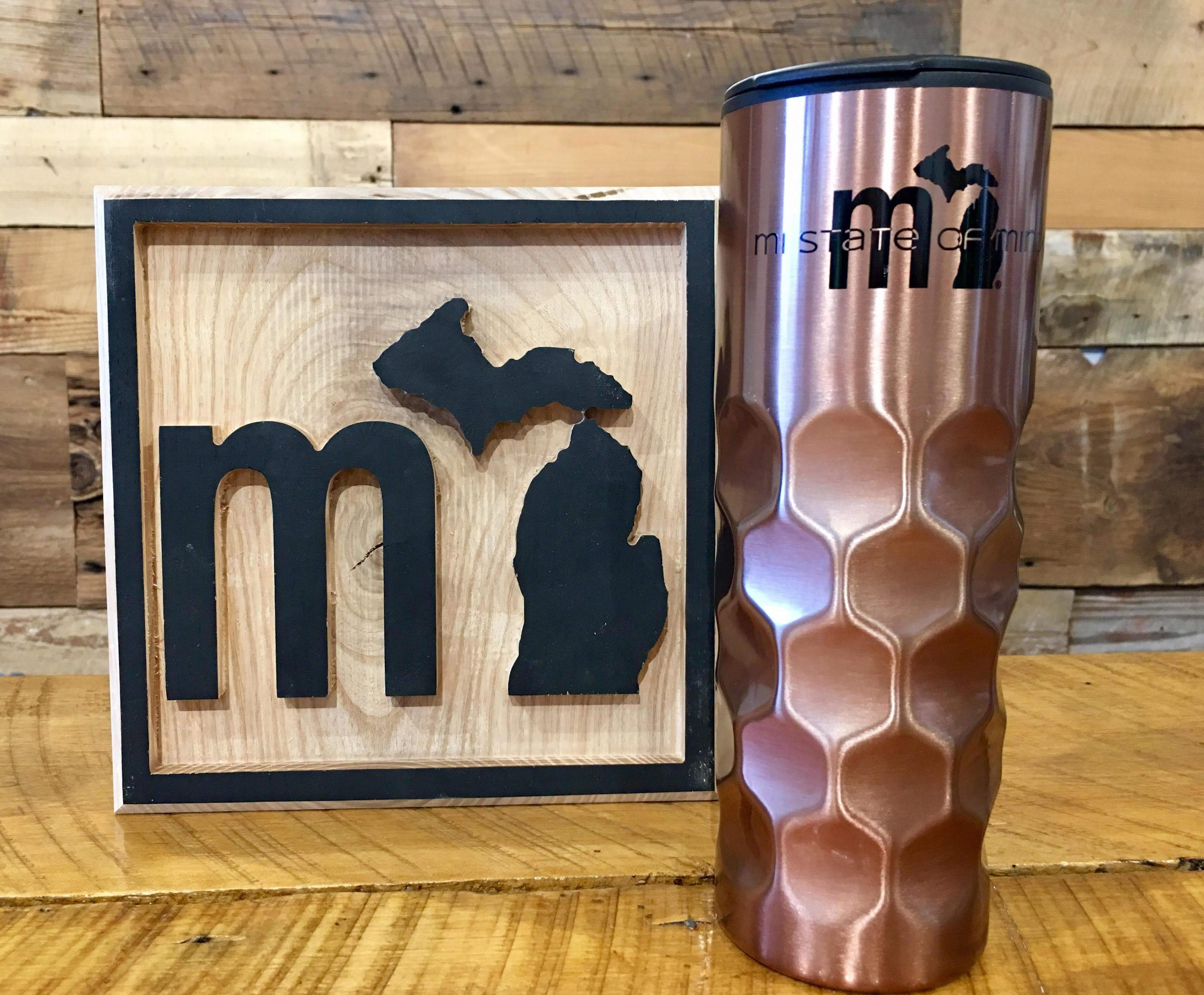 mi State of Mind Drinkware Copper mi Thermos - Metallic