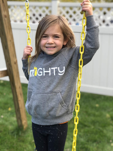 Michigan MIGHTY Youth Hoodie