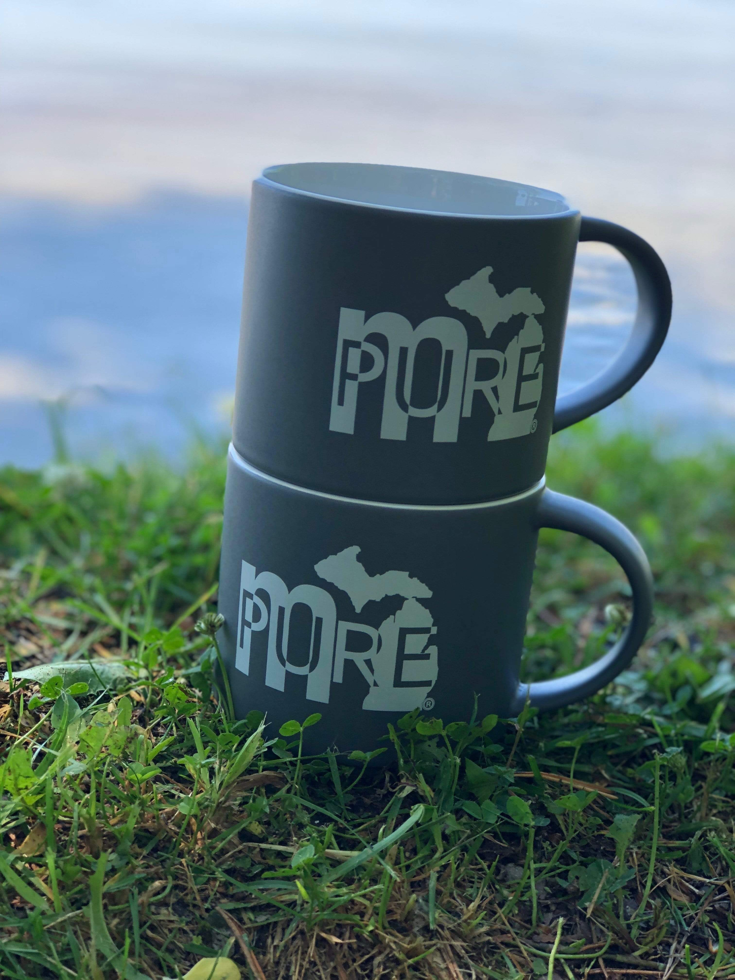 mi State of Mind Mug mi PURE 16 oz. Mugs - Set of 2