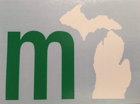 mi USA Car Decal