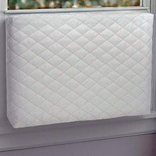 "Indoor Window AC Covers by ALPINE HARDWARE - Double Insulation Air Conditioner Cover (White, 28"" x 20"" x 3.5"")"