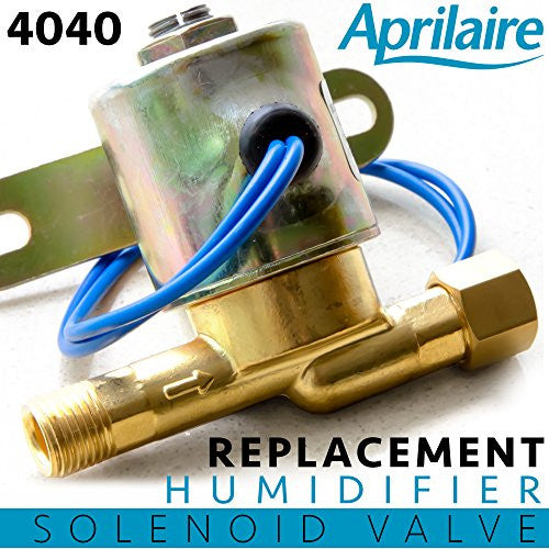 4040 Replacement Humidifier Valve for Whole House Humidifiers Compare to Aprilaire Part No. 4040 | 24 Volts | 2.3 Watts | 60 HZ By: Alpine Hardware