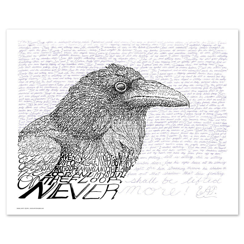 The Raven Edgar Allan Poe Poster
