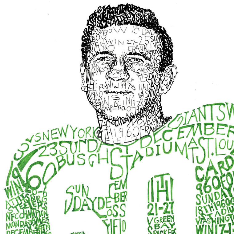 Philadelphia Eagles 1960 Wall Art Print