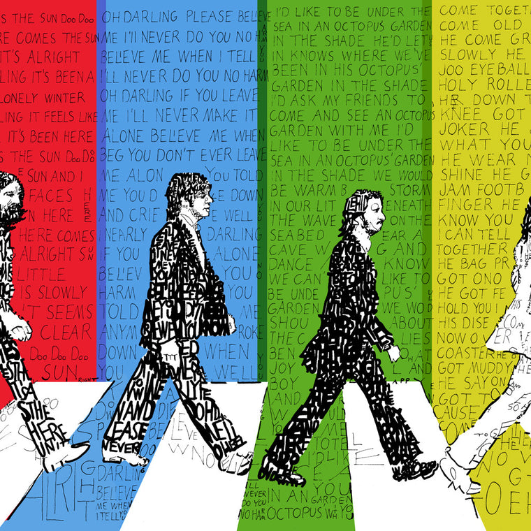 Beatles Abbey Road Wall Decor