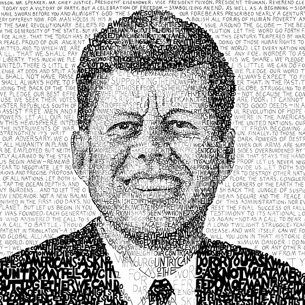 President John F Kennedy Wall Art