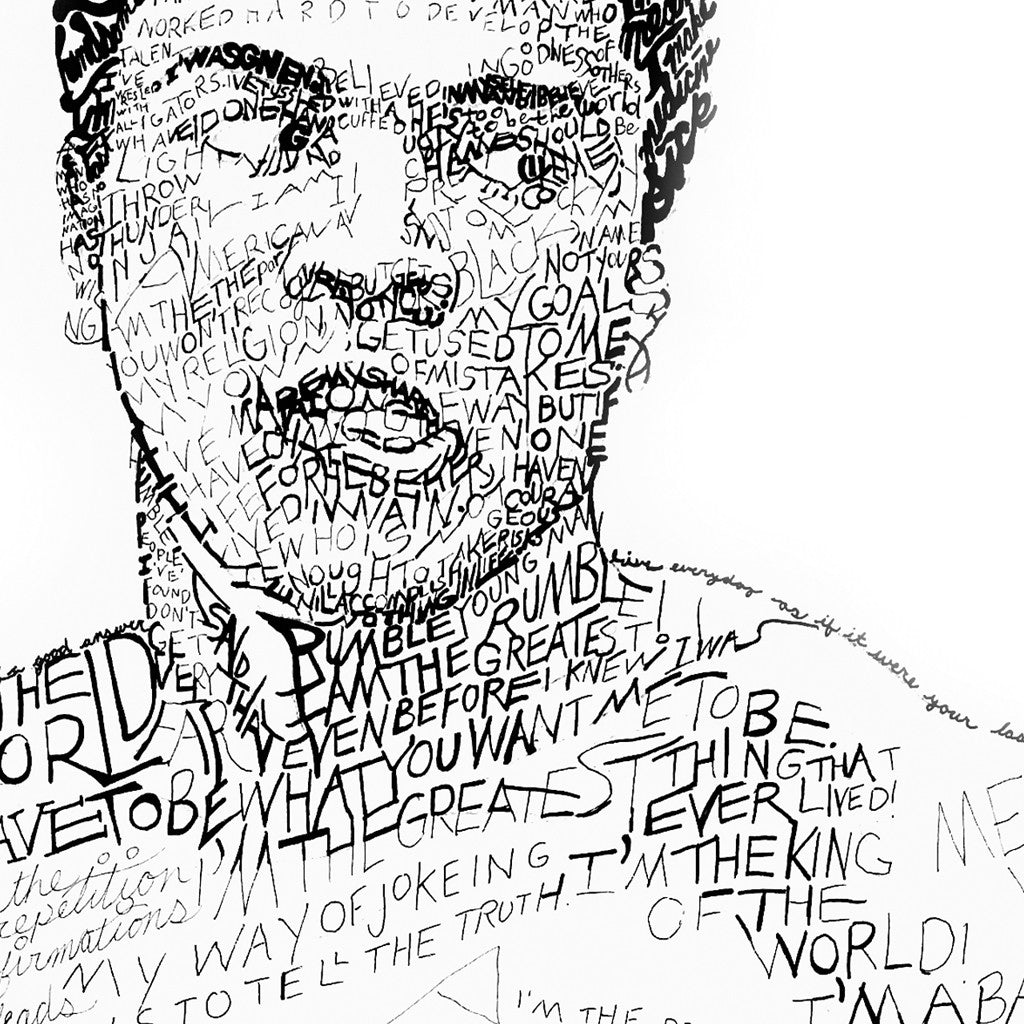 Muhammad Ali Wall Decor Print