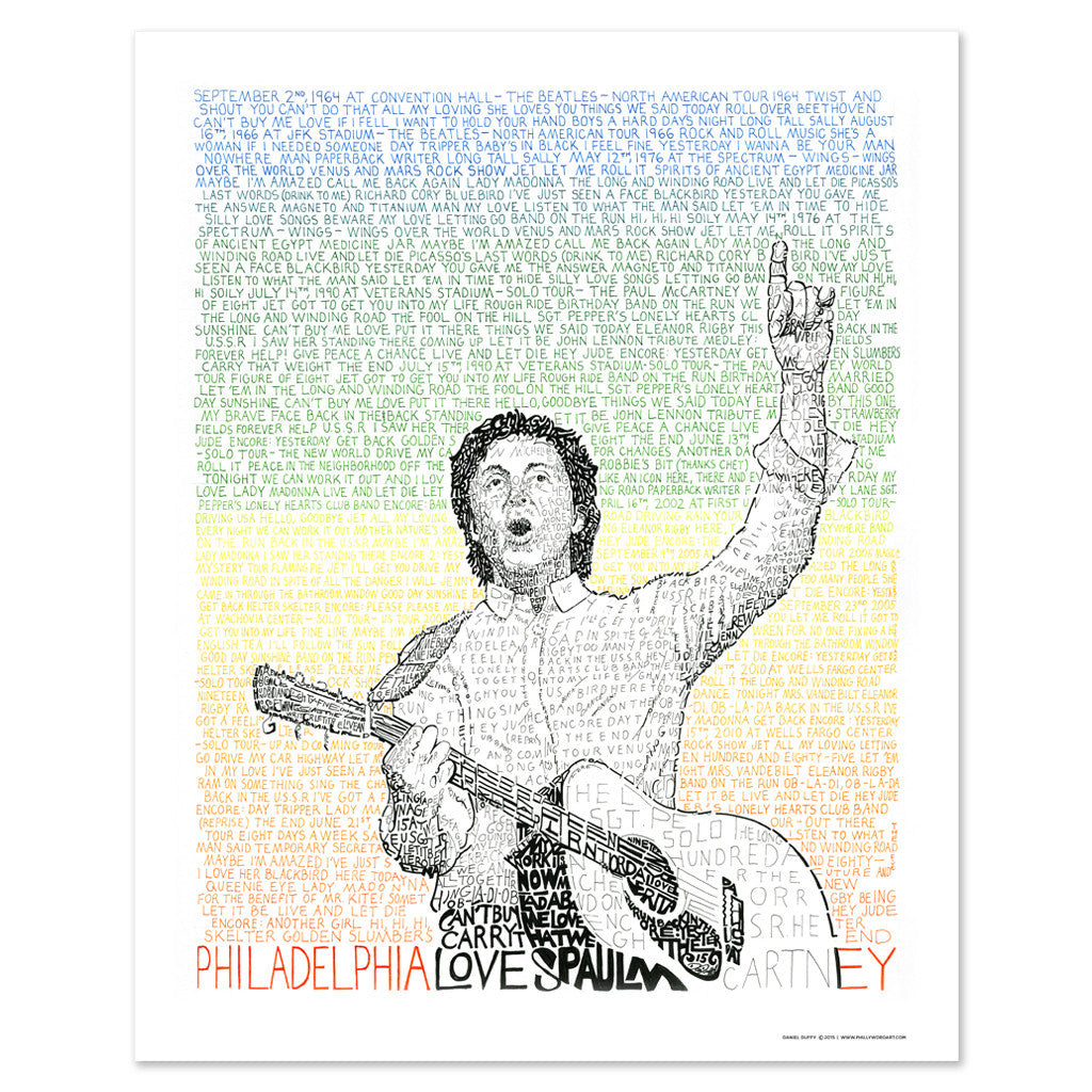 Paul McCartney Wall Decor