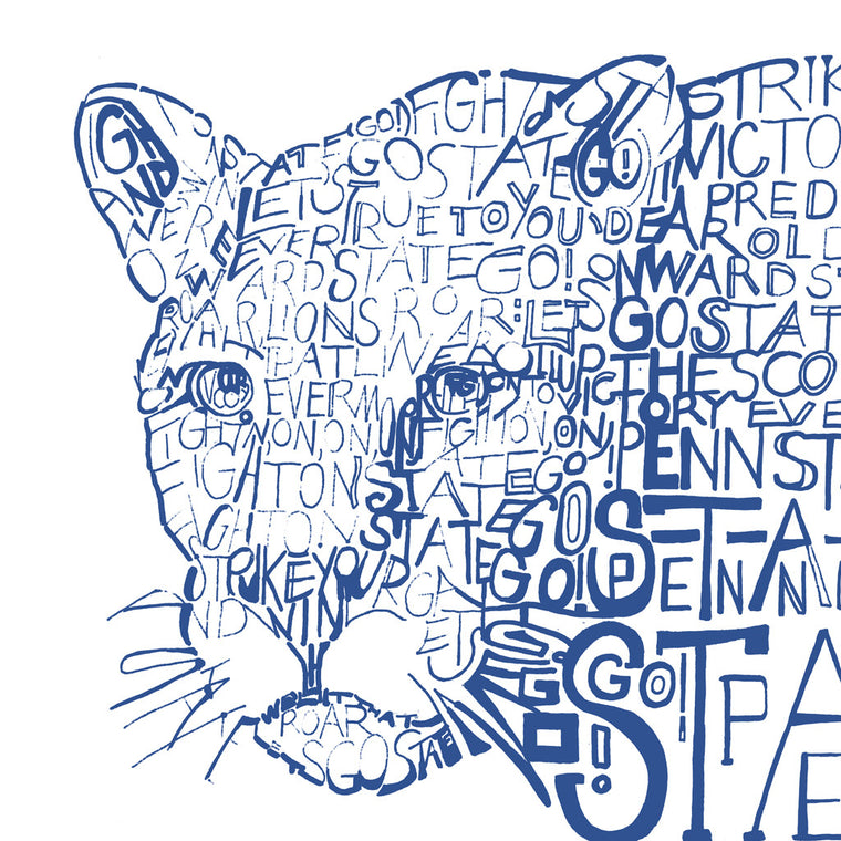 Penn State Nittany Lions Wall Art Poster