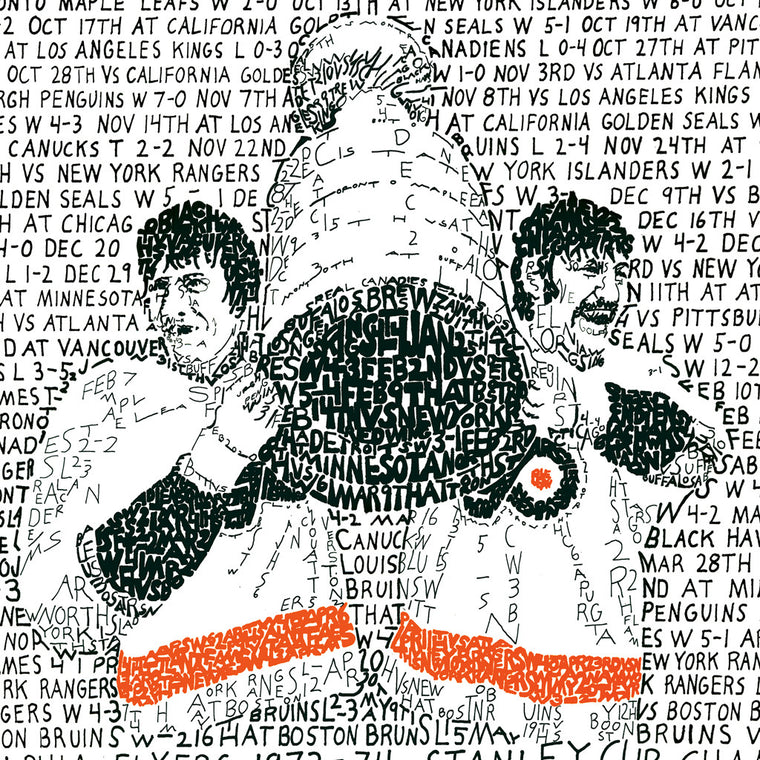 Philadelphia Flyers 1973-74 Stanley Cup Wall Art