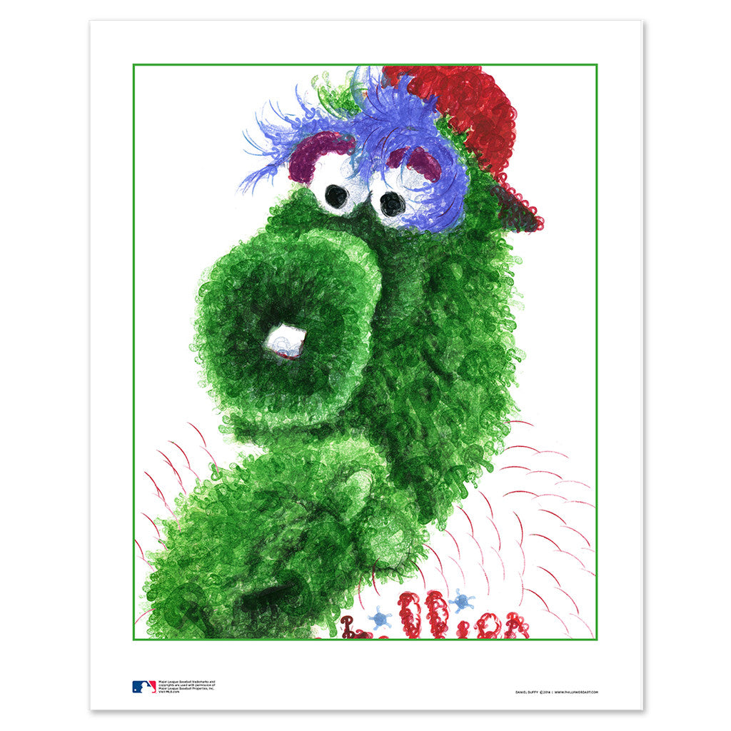 Philadelphia Phillies Phillie Phanatic Decor
