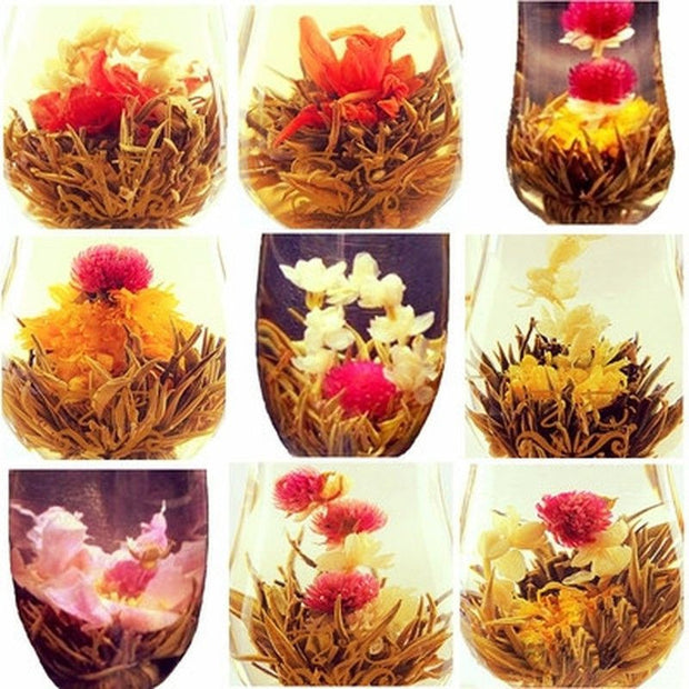 *THE PERFECT GIFT* 20 pcs of Handmade Blooming Flower Jasmin Tea-NoStressStore-NoStressStore