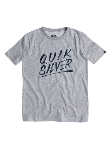 Quiksilver A23 Classic TEE - Grey - Surf' in Monkeys School & Shop