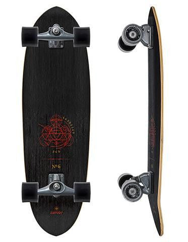 "Carver Skateboards 33"" Haedron No. 6 - Surf' in Monkeys School & Shop"