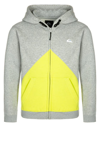 Quiksilver Tracksuit Top - Light Grey - Surf' in Monkeys School & Shop