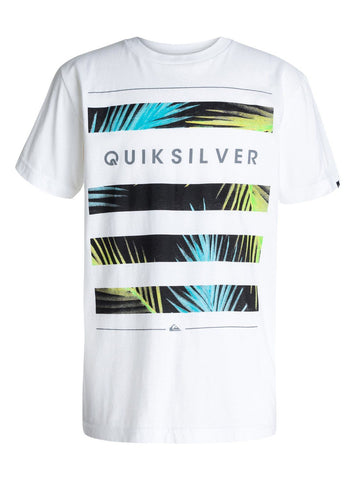 Quiksilver Shelter T-shirt - White - Surf' in Monkeys School & Shop