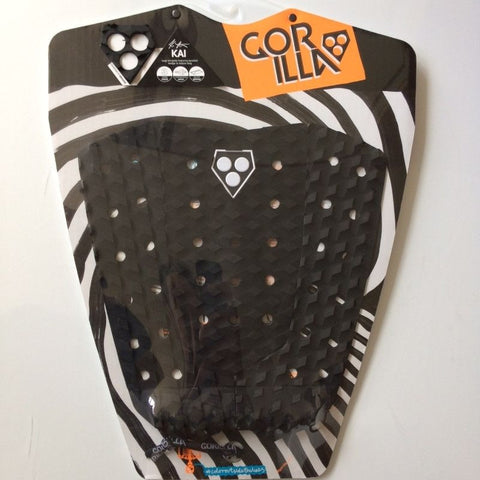 Gorilla Kai Surfboard Tail Pad - Black - Surf' in Monkeys School & Shop