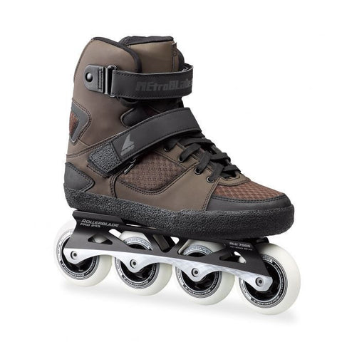 Rollerblade Metroblade GM 80 Inline Skates Black/Brown - Surf' in Monkeys School & Shop