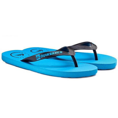 Quiksilver Slides - Blue/Black - Black - Black/Red - Surf' in Monkeys School & Shop