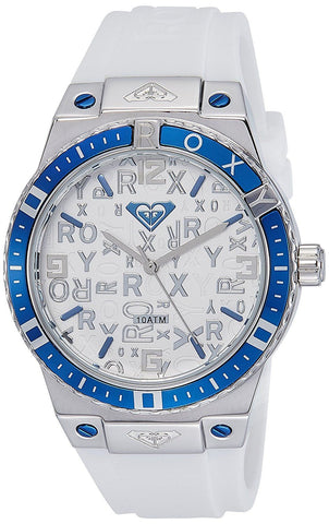 Roxy The Bliss Women´s Analog Watch - White/Blue - Surf' in Monkeys School & Shop