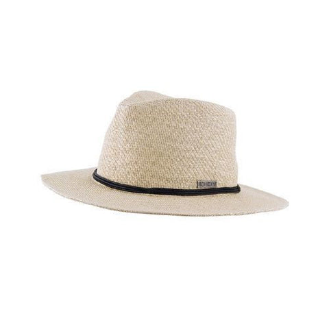 Ocean & Earth Ladies Rick Rack Cane Hat - Ivory - Surf' in Monkeys School & Shop