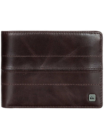 Quiksilver All Night Wallet - Chocolate/ Black - Surf' in Monkeys School & Shop