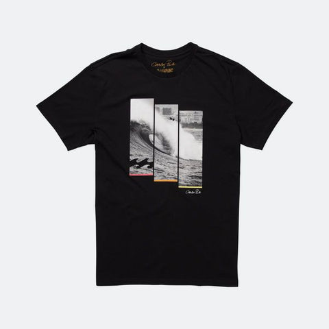 Billabong CP Triwave SS T-shirt - Black - Surf' in Monkeys School & Shop